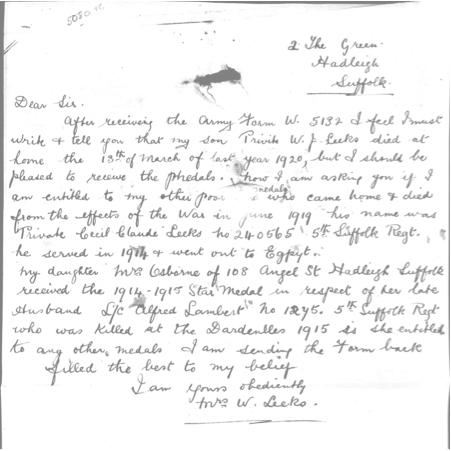 Mrs Leeks letter.jpg
