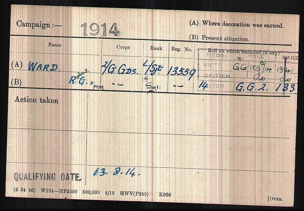 BritishArmyWWIMedalRollsIndexCards1914-1920ForWardRobertG copy.jpg