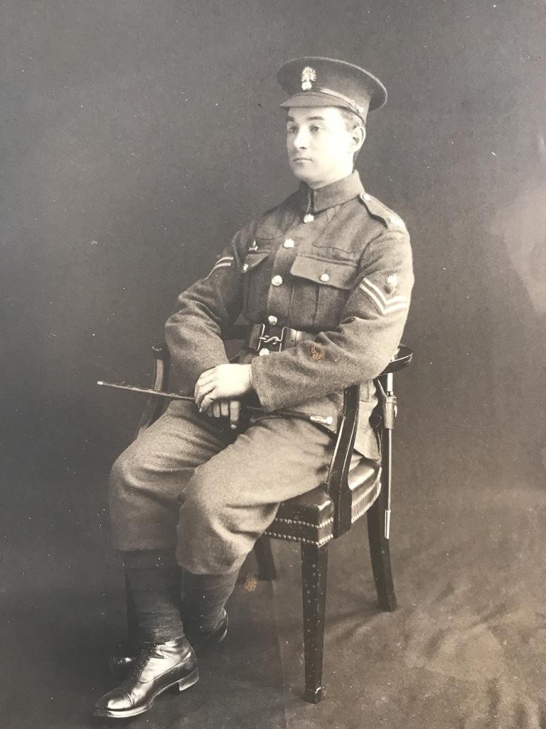 Corporal Frederick Hinton Hockey