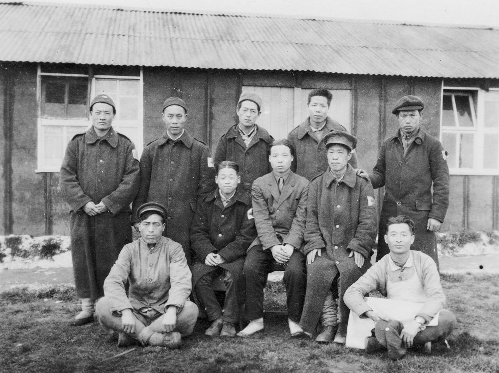 Members of the Chinese Labour Corps