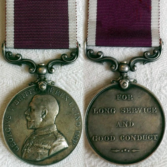 King George LS&GC Medal