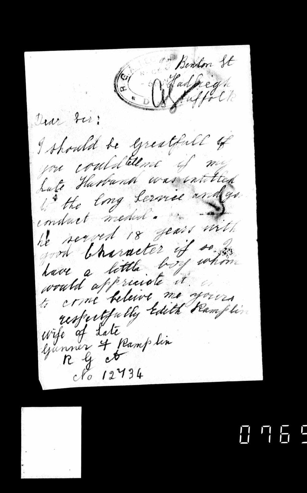 Letter from wife re LSGC.jpg
