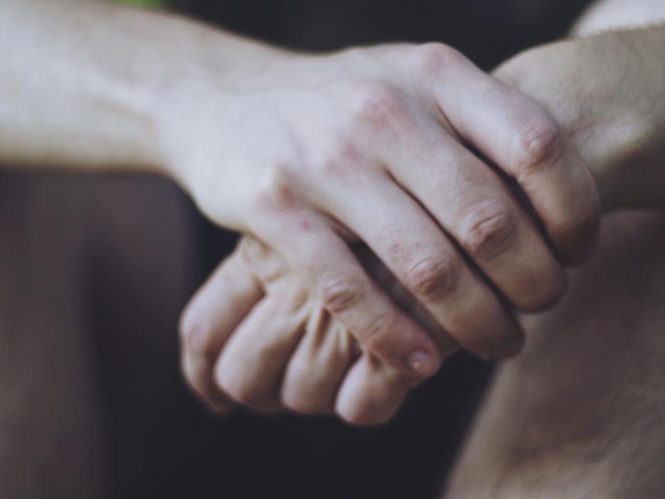 Nadan's hands, 2011.