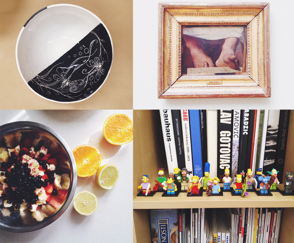 Are you interested in food, literature, LEGO, Ingres, Paris, travelling, cartoons, DIY ... or maybe  ALL of it?