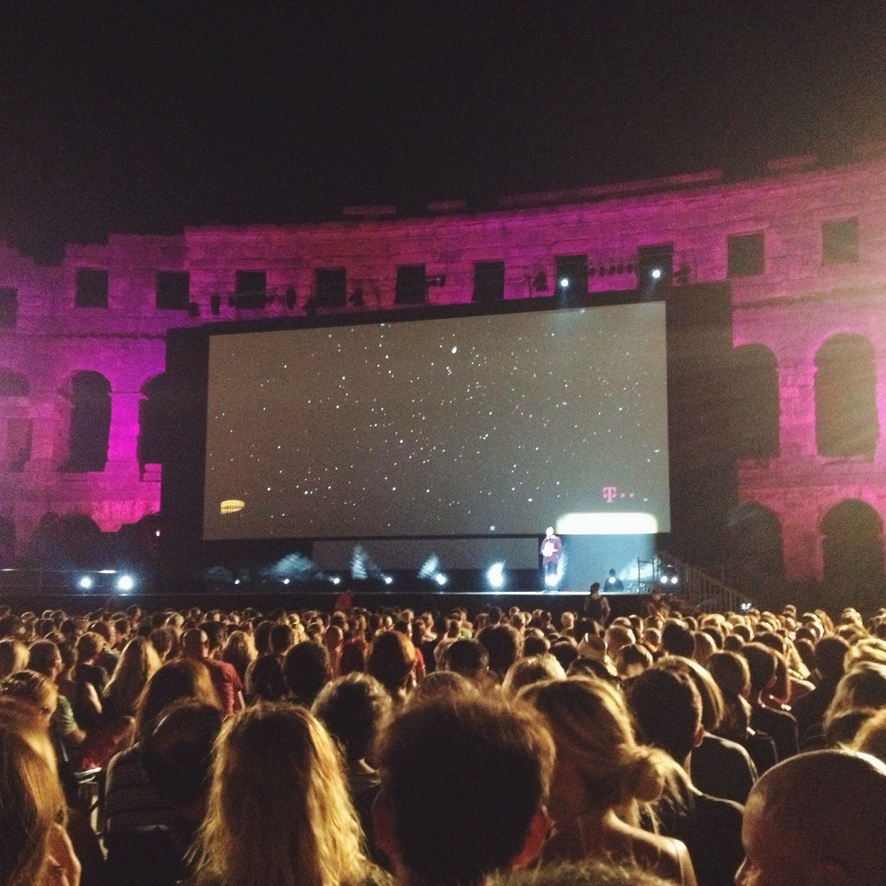 Pula Film Festival in the Roman amphitheater