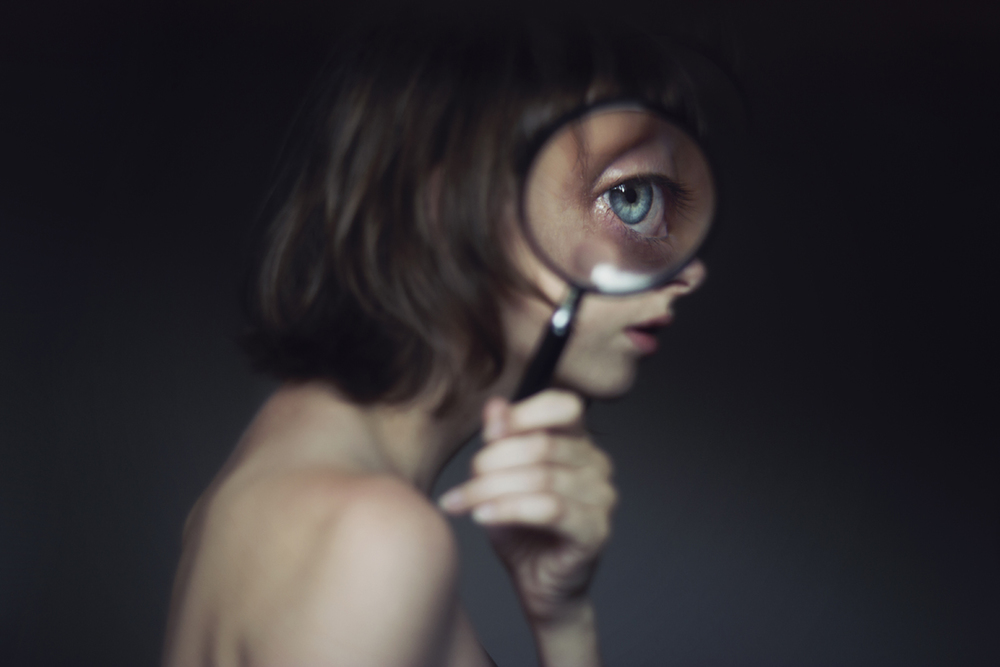 surreal self portrait photography