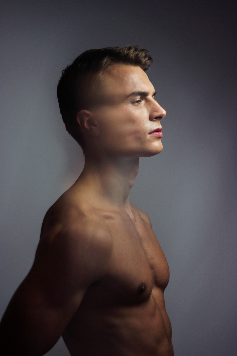 male model color photography elite amsterdam