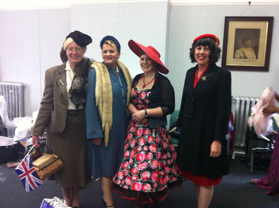 Vintage Fashion Show - fundraiser for Cruise & Your Good Mourning