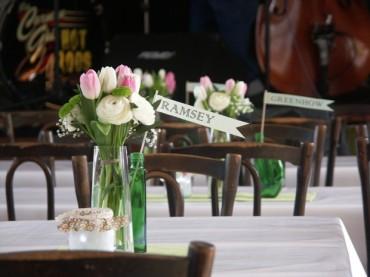 Wedding Reception: designed by Hansley Beard