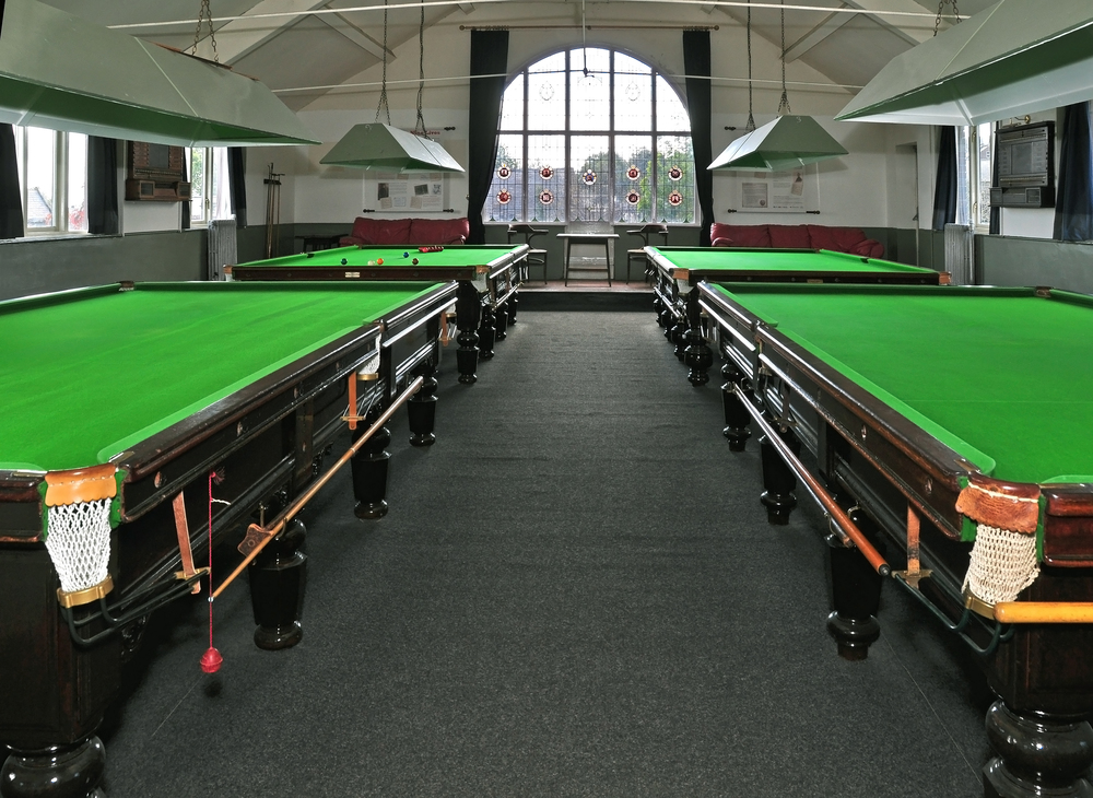 Snooker: open to all at affordable prices