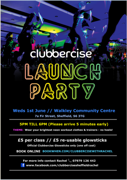 5-6pm launch party. Classes in following weeks 6-7pm