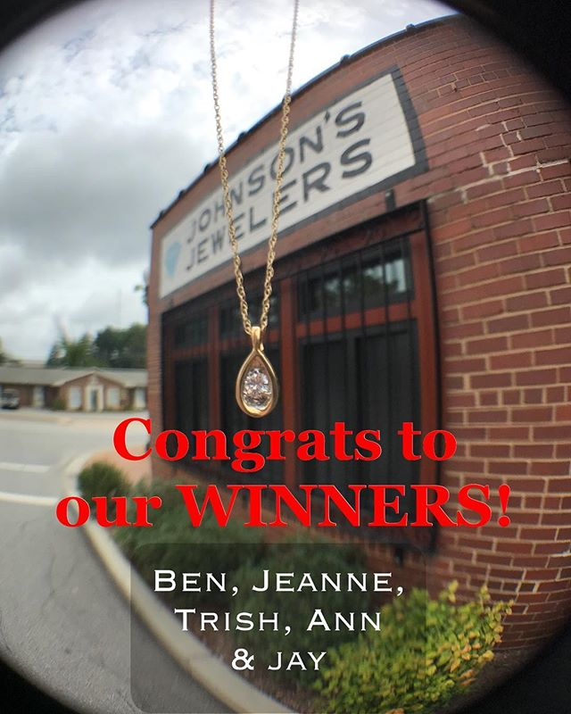 Thanks for celebrating our 50th Anniversary with us! Congrats to the winners!