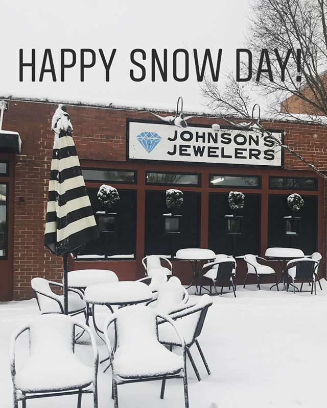 Enjoy the snow today! We will keep you updated on what our plans are for tomorrow! Stay safe!!!