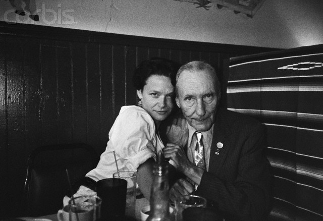 Anne Waldman con William S. Burroughs