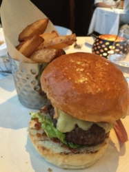 Trenchmore Burger served at  Roast Restaurant , London
