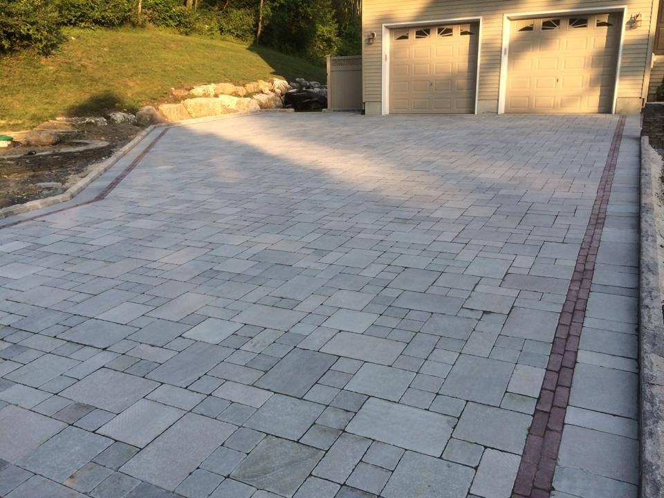 driveway and concrete pavers in warwick and goshen, ny