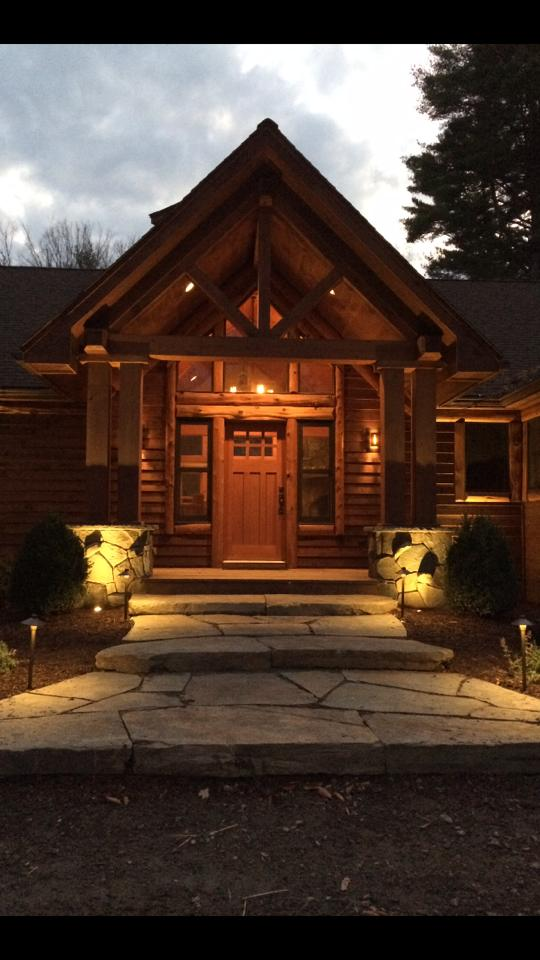 front outdoor lighting in bethel, ny