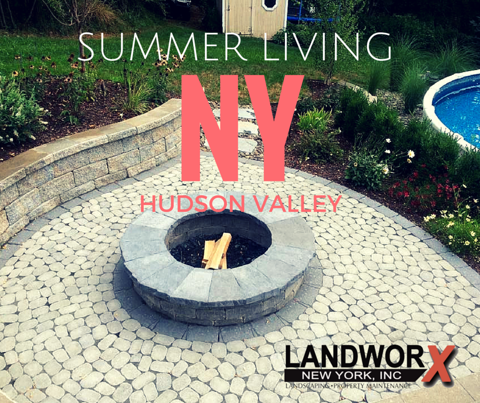 Landscaping in Orange County, NY | Fire pits Hudson Valley