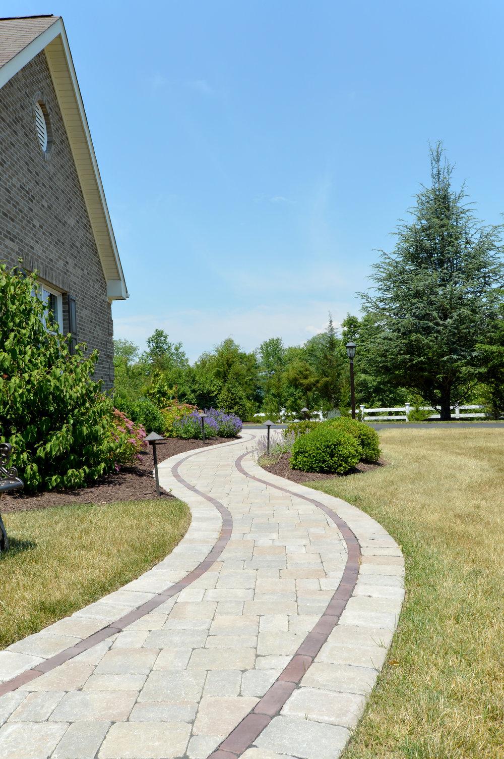 Warwick, NY unilock paver walkway
