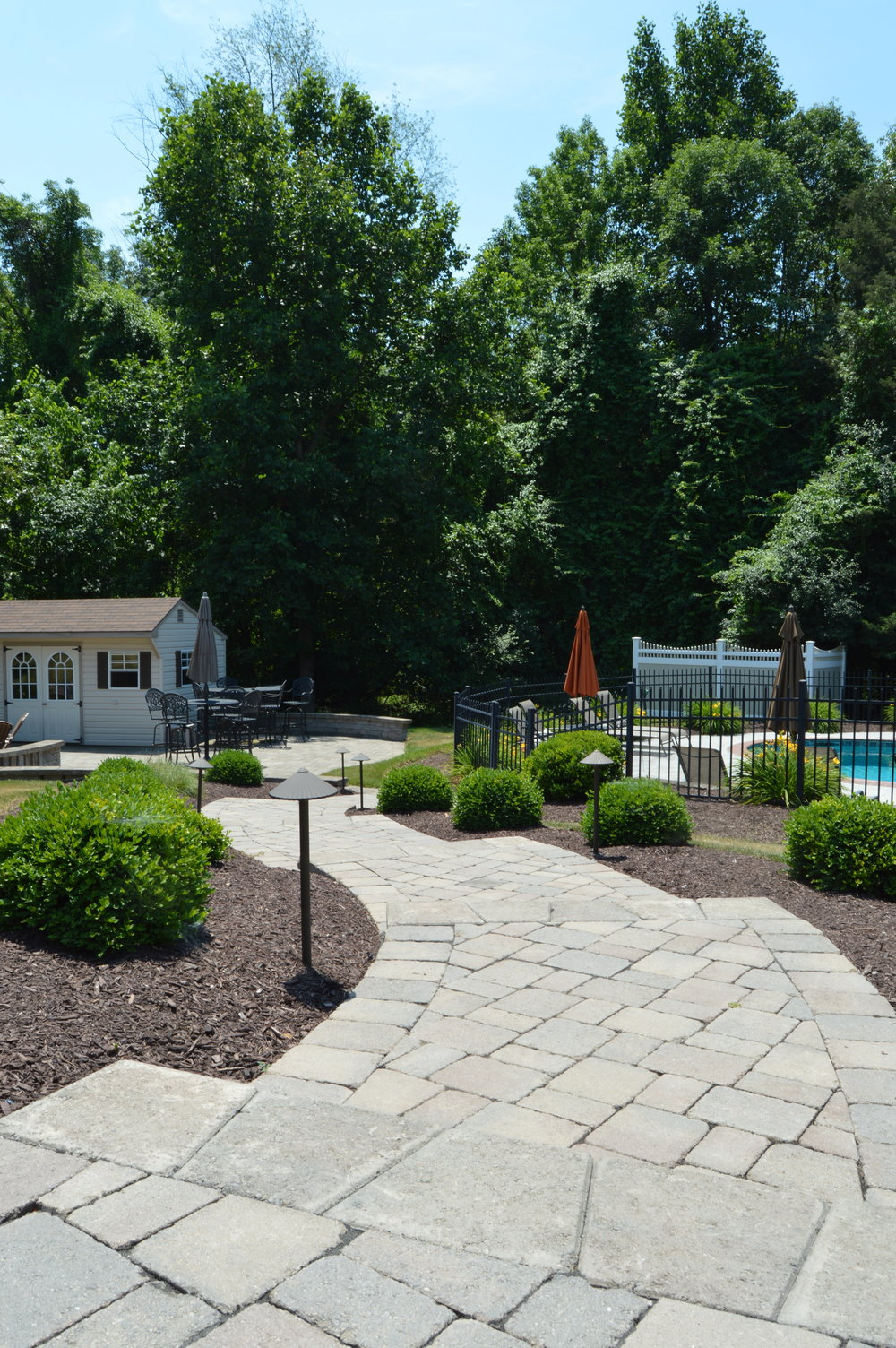 Concrete paver walkway in Warwick, NY