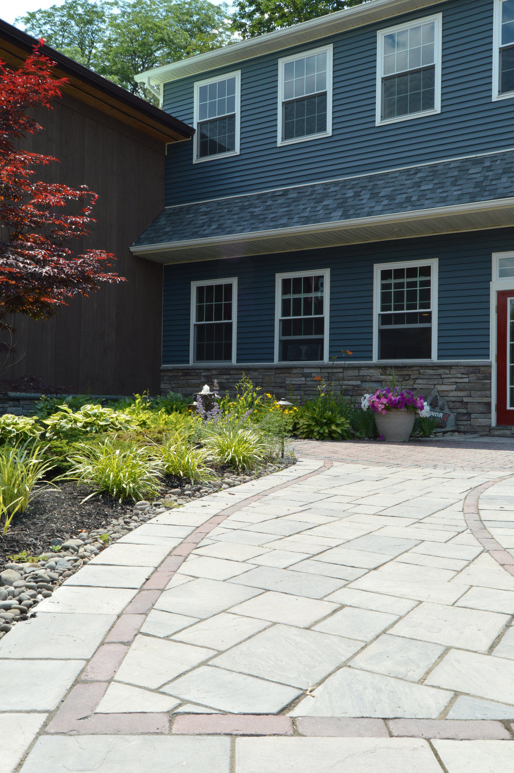 Paver walkway in Goshen, NY