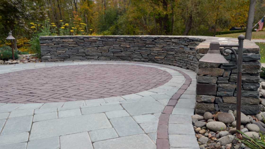 Beautiful 4 Unilock Permeable Patio Options For Warwick Homes