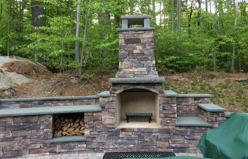 Put Your Outdoor Fireplace to Good Use with these Monroe, NY Backyard Party Ideas