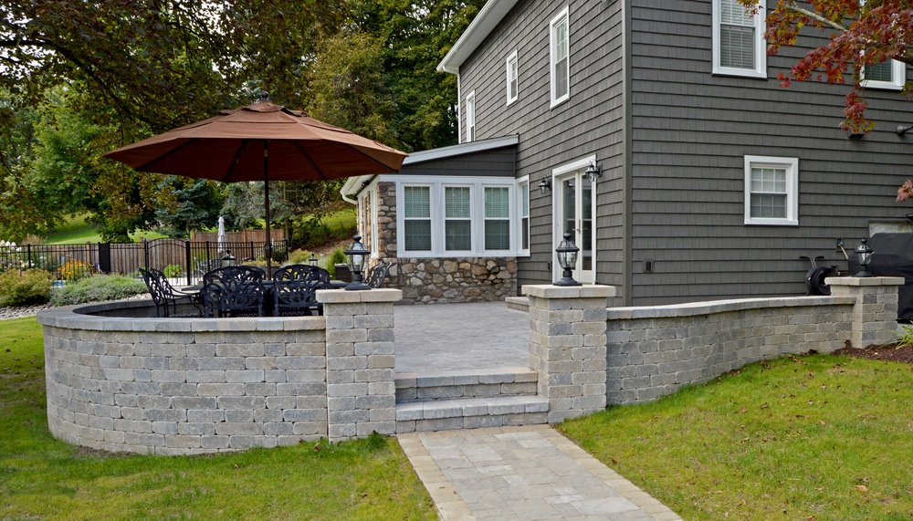 Perk Up your Seating Area with Beautiful Masonry in Warwick, NY