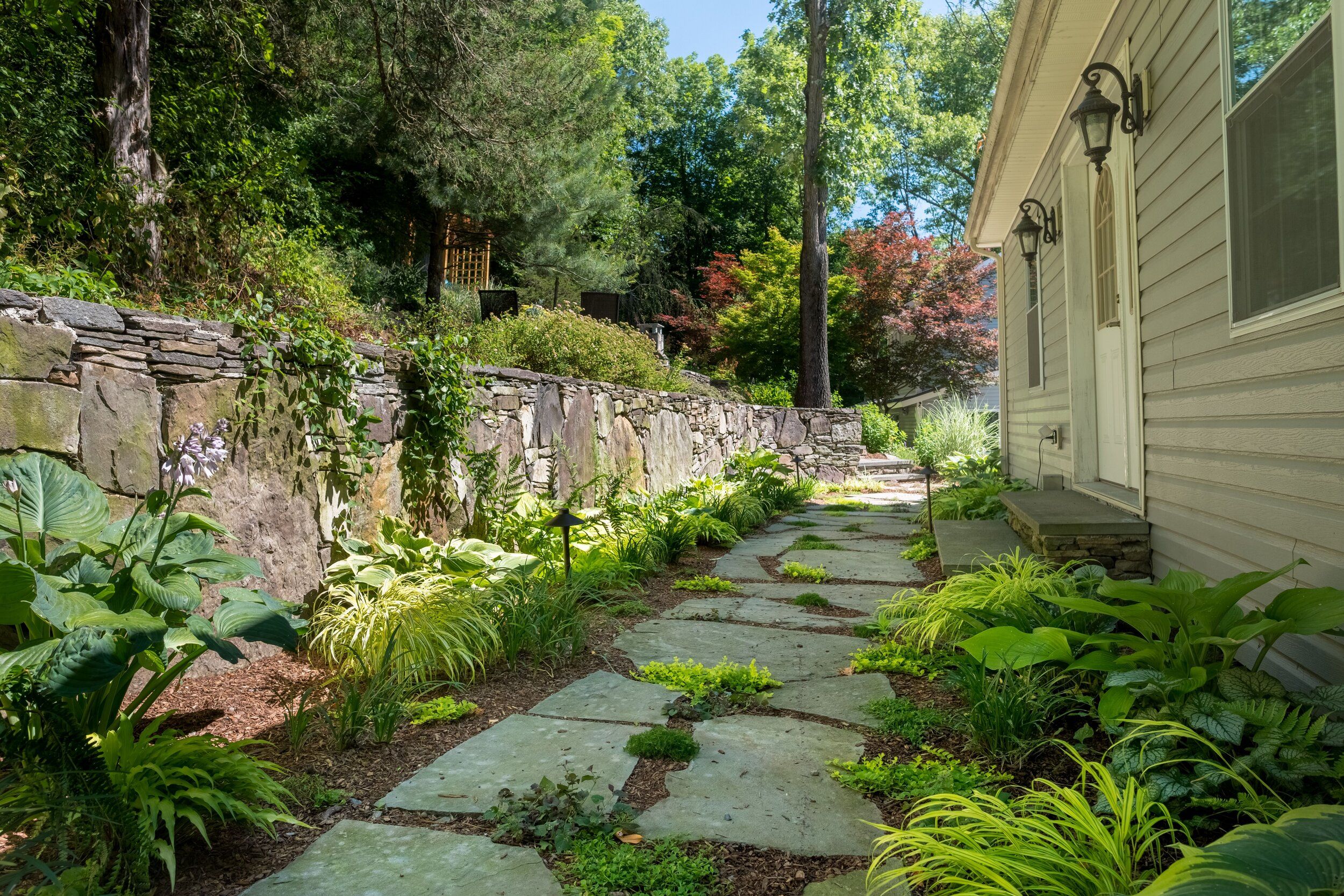 Landscape Design Ideas That Incorporate Natural Stone In Florida Ny Landworx Of Ny Landscape Design And Build Goshen Ny Hudson Valley Landscaping Company