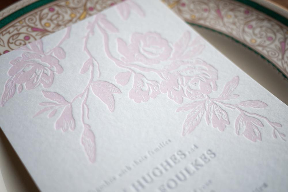 flora blush pink