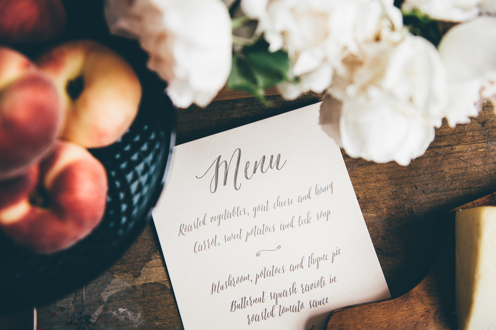 A5 menu