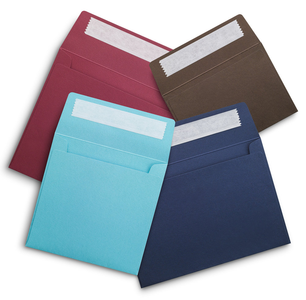 Bespoke coloured envelopes