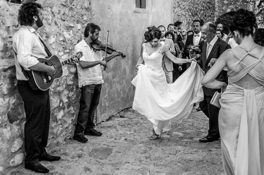 25_Destination_Wedding_in_Monemvasia_bridal_walk_music_on_the_way.jpg