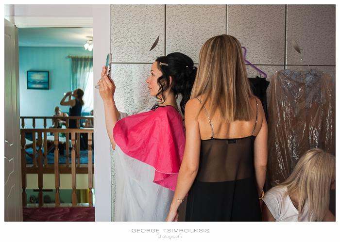 19 Γάμος στην Αθήνα προετοιμασία νύφης καθρέπτης.jpg