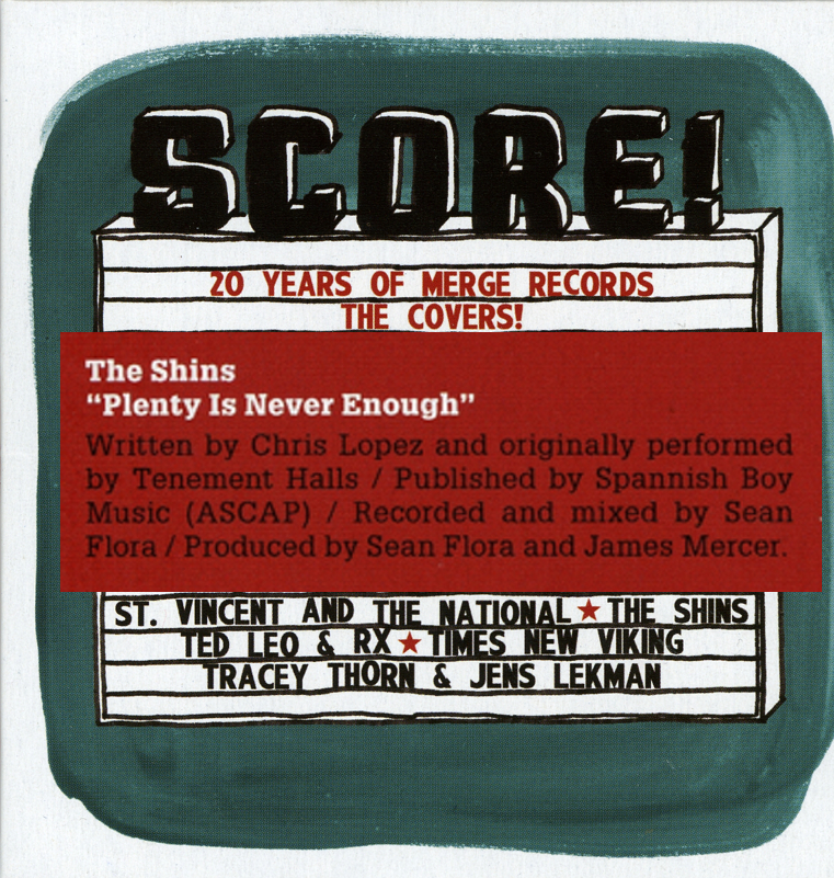 Shins Merge Score Plenty album cover credits.jpg