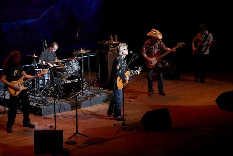 Jimmy & the Vaqueros Electronicos at the Plaza Theater. El Paso, TX