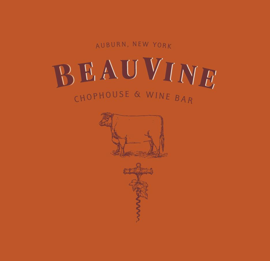 BeauVine  Logo & identity