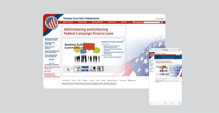 Legacy site design