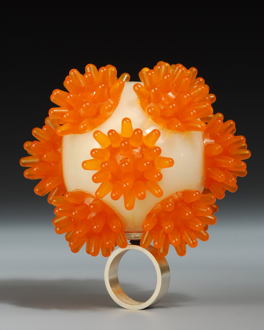 Orange-Cream Ring