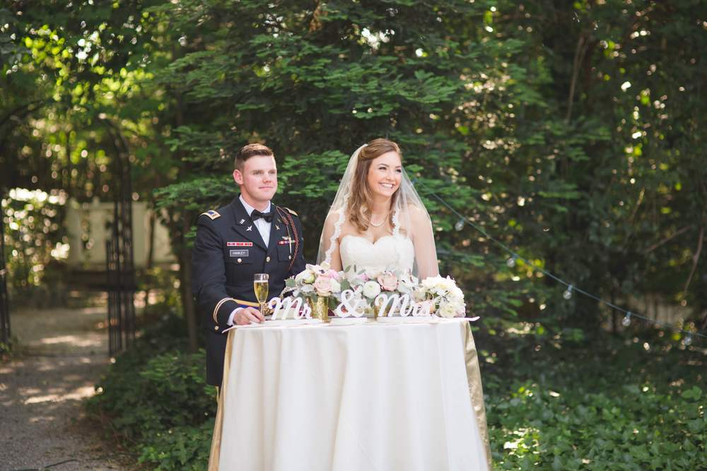Airforce Wedding