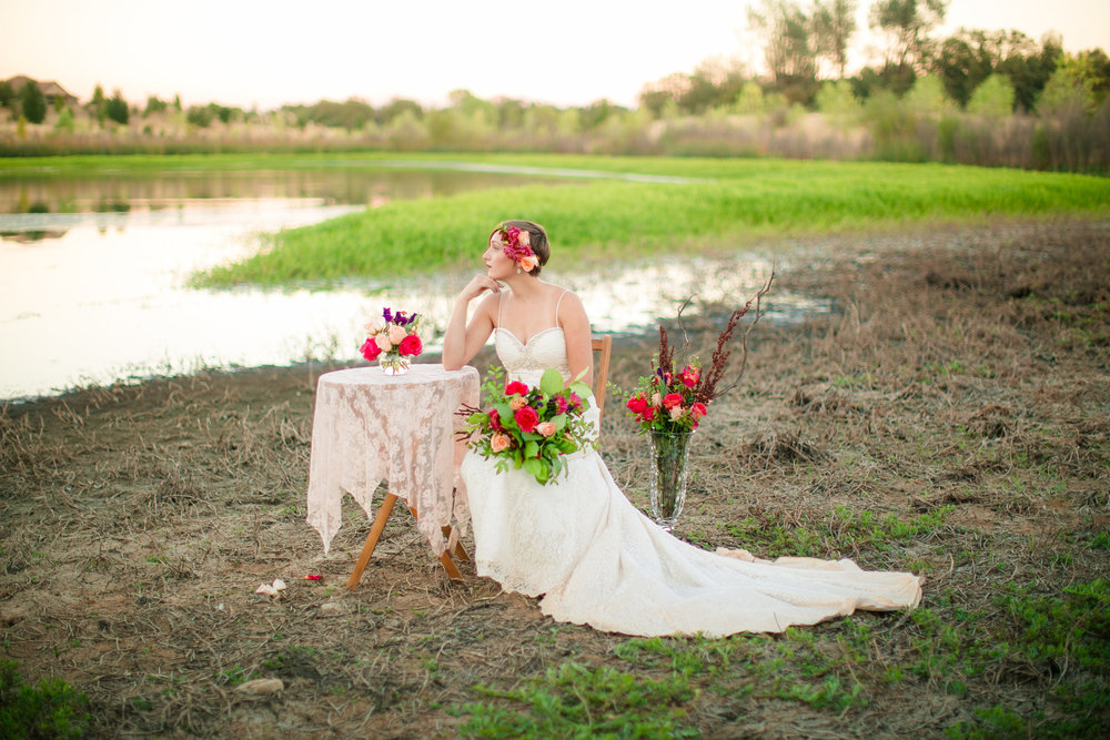 Redding Florist : Fall Wedding Flowers