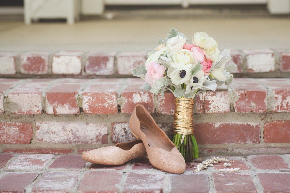 Redding Florist : Garden Themed Wedding