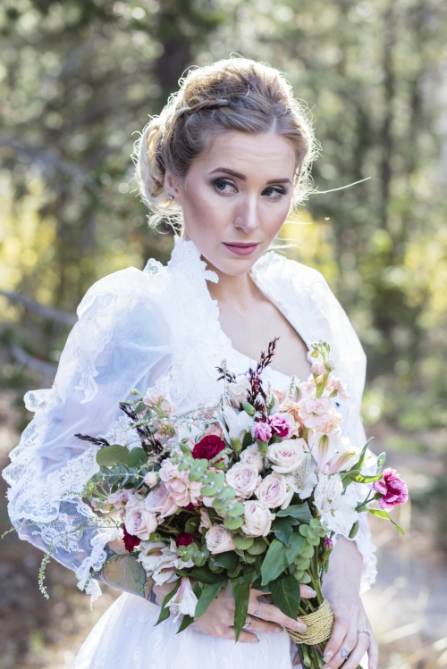 Redding CA Florist - Blush Bridal Bouquet
