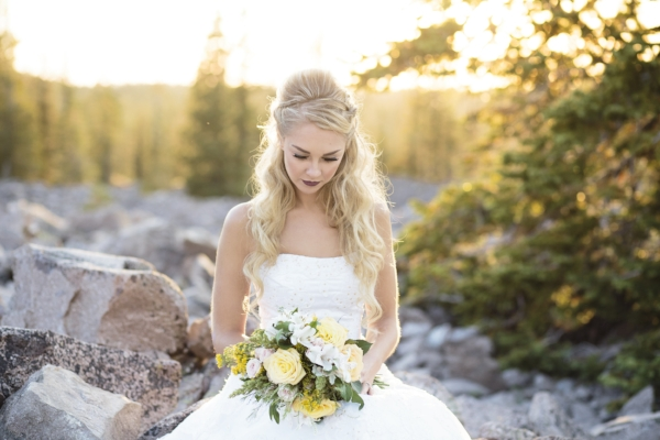 Soft Yellow Bridal Bouquet