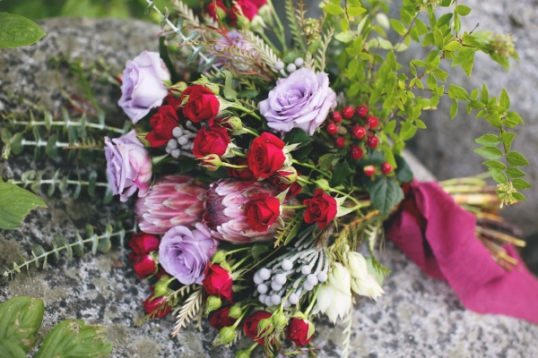 Redding CA Florist: Autumn Bouquet