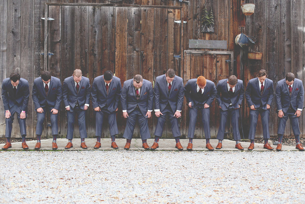 Groomsmen | Velours Designs | Redding, CA | Katelyn Parra Photography