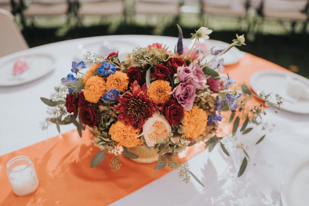 Día de Muertos Wedding  Flowers By Velours Designs  Photos by Essence Photography
