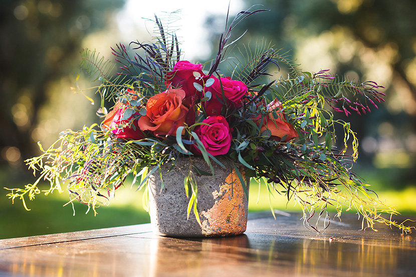 Vibrant Fall Flowers | Velours Designs