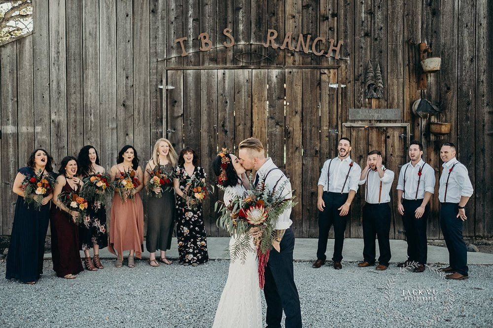Rustic Bohemian Wedding | Velours Floral Designs | Jack Vu Photography