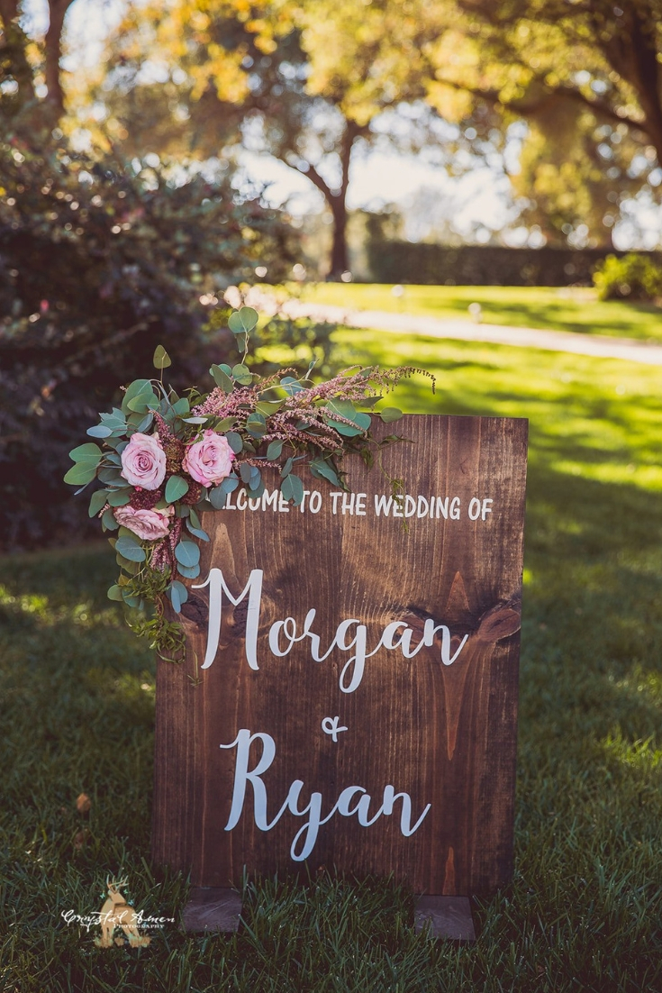 Country Garden Wedding | Velours Designs | Crystal Amen Photography